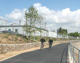 Ballona Creek Bike Paths