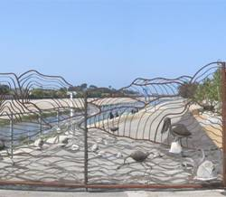 Ballona Creek Gate