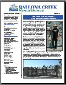 Ballona Creek Newsletter